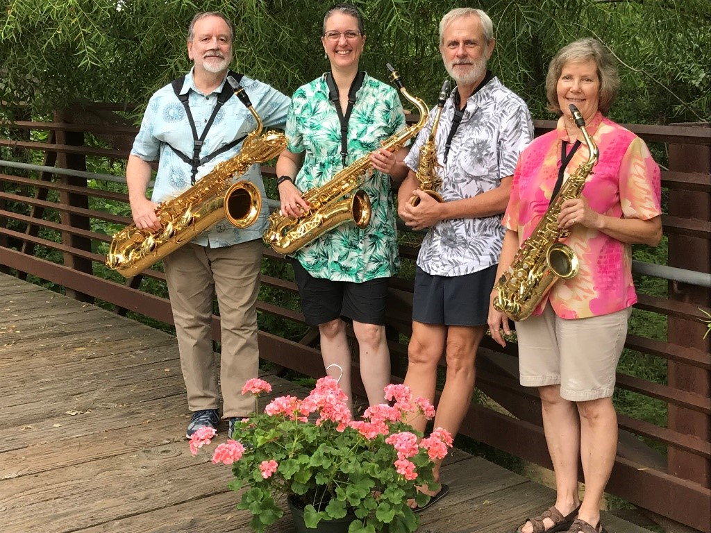 Meet the Triangle Sax Ensemble