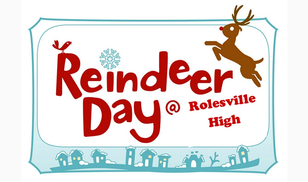 Reindeer Day at Rolesville High Image