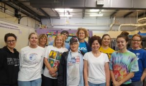 Volunteers on Sunday
