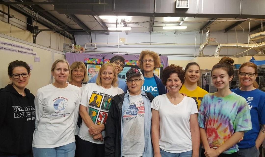 SAFE Haven Volunteers group photo
