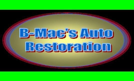 B-Mac's Auto Restoration