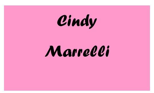 Anniversary Sponsor Cindy Marrelli