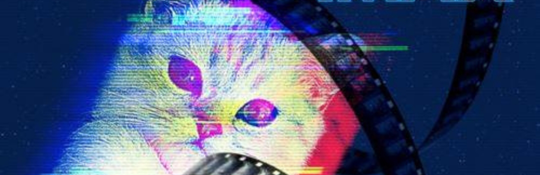 Image of Cat with Film Strip