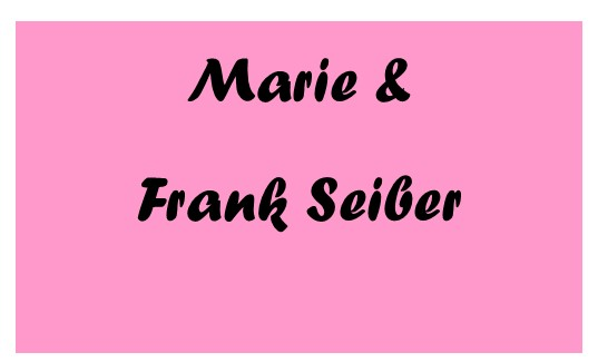 Marie and Frank Seiber