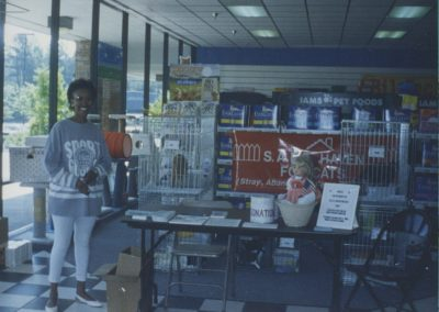 1994 - First Adoption Event at Pet Depot Superstore
