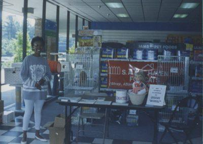1994 - First Adoption Event at Pet Depot Superstore