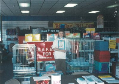 1994 - First Adoption Event at Pet Depot on Capital Boulevard