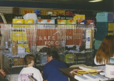 1995 - Pet Depot Superstore adoption event