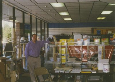 1995 - Doug at Pet Depot Superstore adoption event