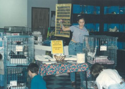 1997 - Off site adoption events at Pet Depot Superstore Harvest Oaks Plaza
