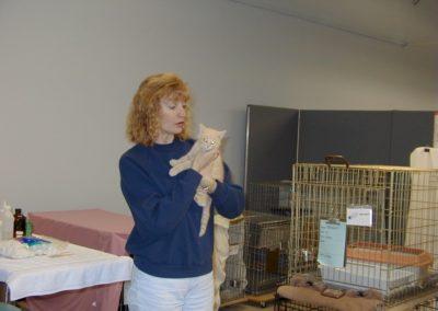 1999 - Volunteers Martha Benton
