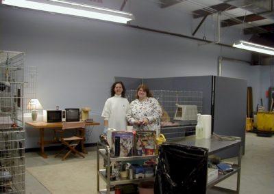 1999 - Volunteers Thursdays cleaning crew