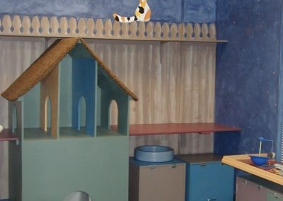 1999 - Color in old playroom