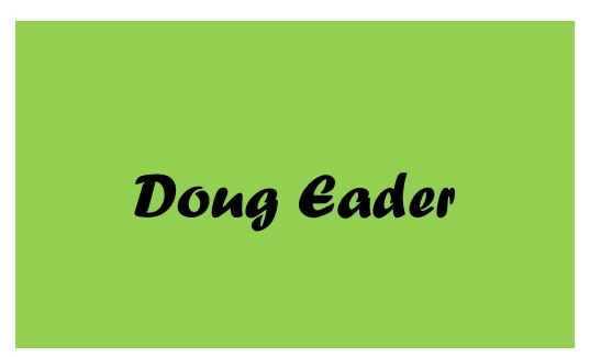 2019 Catsino Royale Flush Sponsor Doug Eader
