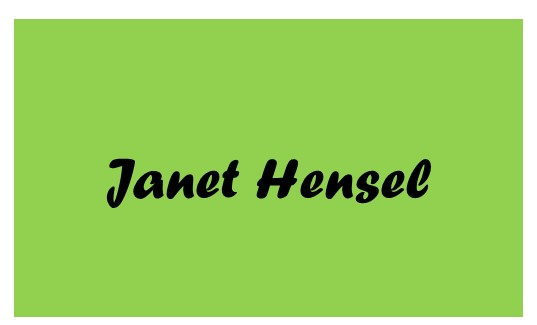 2019 Catsino Royale Dealers Choice Sponsor Janet Hensel