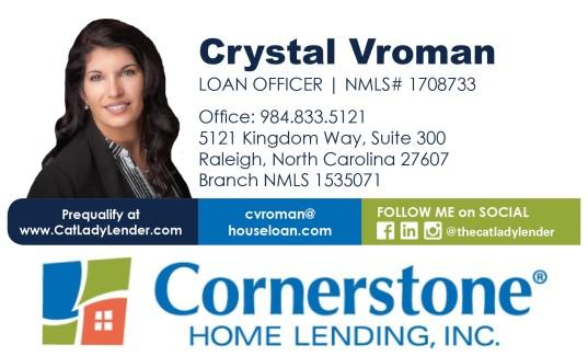 2019 Catsino Royale Flush Sponsor Cornerstone Home Lending, Inc.