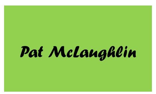 2019 Catsino Royale Flush Sponsor Pat McLaughlin