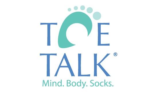 2019 Catsino Royale Flush Sponsor Toe Talk - Mind. Body. Socks.