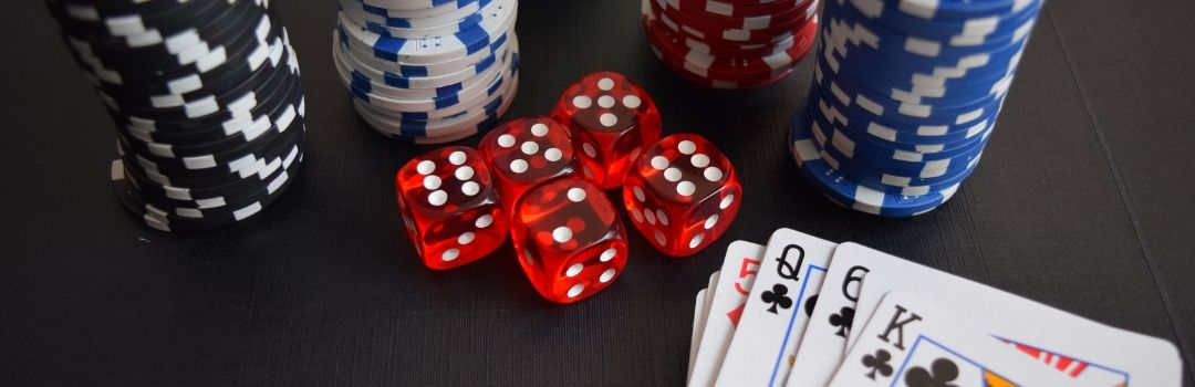 Photo of Poker Chips, Cards & Dice