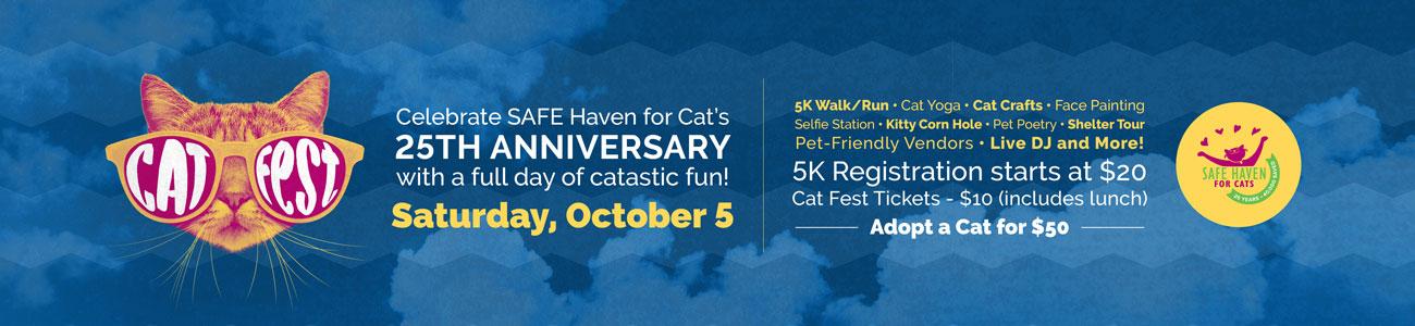 Cat Fest page banner