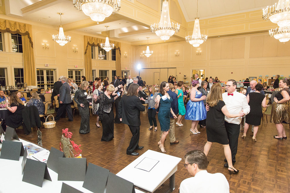 2019 Tuxedo Cat Ball People Dancing & Having Fun