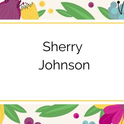 2020 Tuxedo Cat Ball Sustaining Sponsor Sherry Johnson