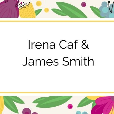 2020 Tuxedo Cat Ball Sponsor Irena Caf and James Smith