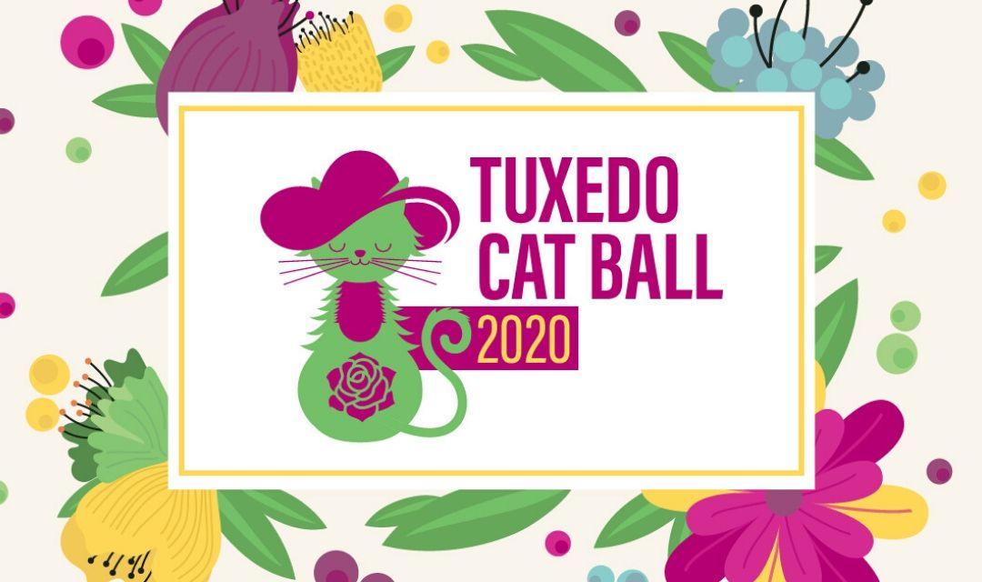 Tuxedo Cat Ball 2020 Logo