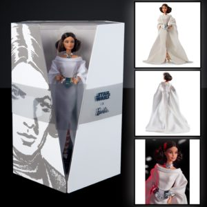 TCB Item 17 Collectible Star Wars Barbie