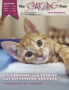 Cover of September 2020 Scratching Post