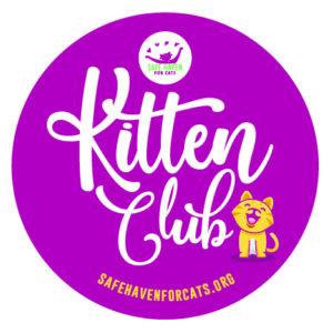 Kitten Club Sticker