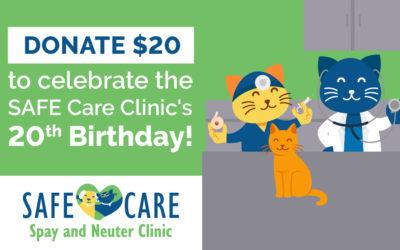 Happy birthday SAFE Care!