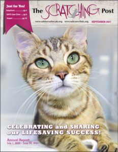 Cover of September 2021 Scratching Post